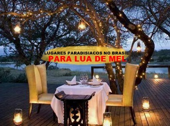 Lugares Paradisiacos no Brasil para Lua de Mel