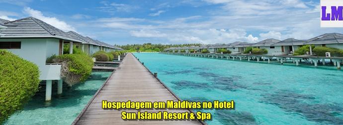 Hospedagem em Maldivas no Hotel Sun Island Resort & Spa