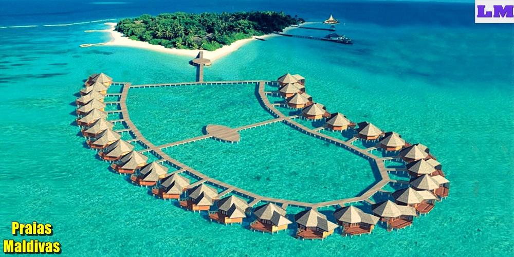Praias Maldivas