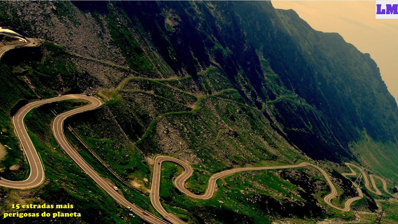 15 estradas mais perigosas do planeta